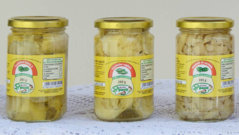 Linea Sottolio Classica <br> (in olio di semi di girasole)