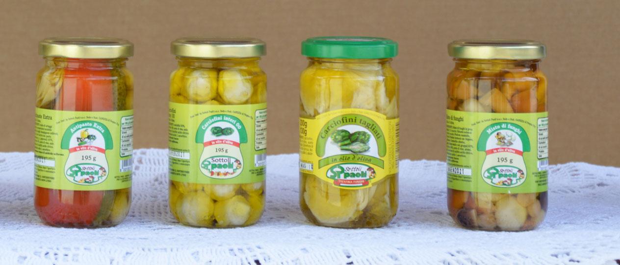 Linea Sottolio Classica <br>(in olio di oliva)